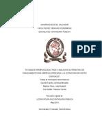F37 Estudio de Reemplazo de Activo y Analisis de Alternativas de Financiamiento