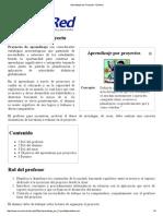Aprendizaje Por Proyecto - EcuRed