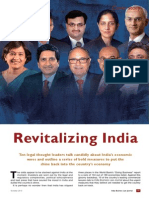 Ten Legal Thought Leaders Talk Candidly Revitalizing-India