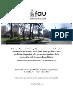 Primera Encuesta Metropolitana a Residentes de Barrios en Renovacion Urbana en El Gran Santiago