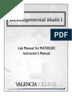 MAT0018C - Instructor