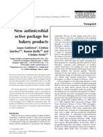 New Antimicrobial Active Package