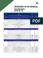 HP Lista de Precios Servidores Junio 2011.Xls 2006