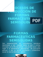 Procesos de Producción de Formas Farmacéuticas Semisólidas 2