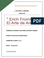 Erich Fromm. El Arte de Amar