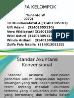 PPT Standar Akuntansi Konvensional dan Standar Akuntansi Syariah