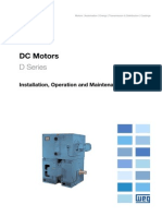 WEG Dc Motor 10061218 Manual English