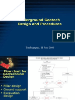 UG Geotech Design Procedures