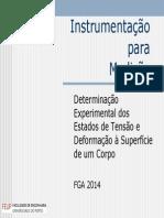 6 e 7 - Determinação Experimental Dos Estados de Tensão e Deformação