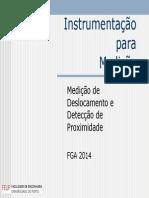 14, 15 e 16 - Medição de Deslocamento e Deteção de Proximidade