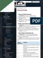 General Feats - Eberron Pathfinder