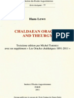 Chaldaean Oracles and Theurgy