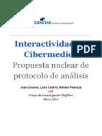 Interactividad en Cibermedios. Propuesta Nuclear de protocolo de análisis