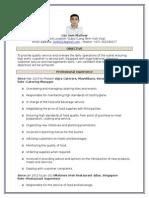 Resume-Lijo-F&B