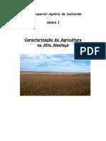 Caracterização Da Agricultura Do Alto Alentejo