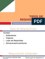Sesion 6 Tipos de Requisiciones