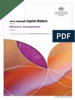 Human Capital Matters Vol 4 2012 Absence Management 1442504527171