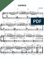 Paganini Capriccio