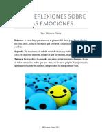 Tres Reflexiones Sobre Las Emociones - Octavio Déniz