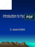 Introduction Ot Hydrology Prezentare