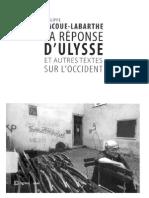 Lacoue-Labarthe - La Réponse d'Ulysse