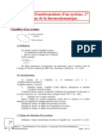 05 Transformations d'un système, 1er principe de la thermodynamique.doc