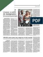 Feminazismo Edil de Podemos Estafa Miles de Inmigrantes