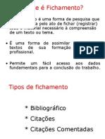 Fichamento .ppt