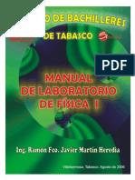 Manual de Laboratorio de Fisica i 2006