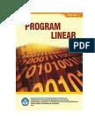 Modul Program Linear