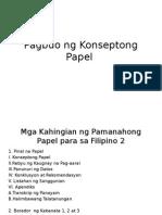 Kabanata I Pagbuo Ng Konseptong Papel