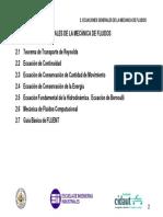 Ecuaciones Generales Mecanica De Fluidos 2014