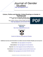 Culture Politics & Identity