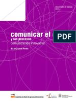 Comunicar el diseño y los procesos 2015
