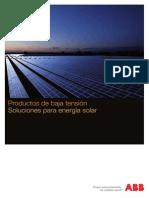 1SDC007350B0701 Productos de Baja Tension Soluciones Para Energia Solar