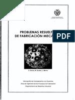 Problemas Resueltos de Fabricacion Mecánica