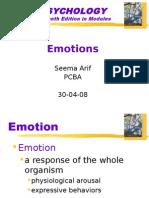 Emotions Psychology