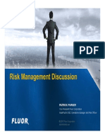 Fluor - Risk Management