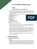 Analisis Del Sistema Administrativo y Servicio de Atencion en Linea Minsa