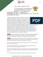 Decreto 18611 2014 Porto Alegre Rs