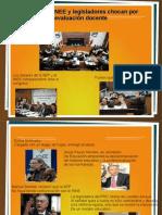 Chuayffet, INEE y legisladores chocan por evaluación docente