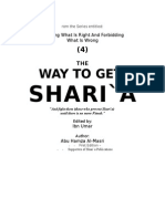 4 - The Way to Get Shariah