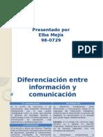Informacion y Comunicacion