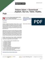Peran Wanita Dalam Islam