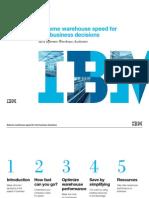 IBM_Extreme Warehouse Speed