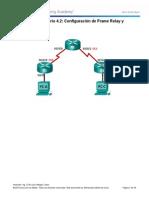 Configuracion de Frame Relay Con Subinterfaces