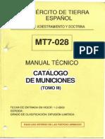Mt7-028.Municiones III (Tomo III)