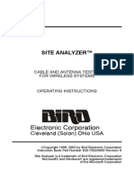BIRD Site Analyzer