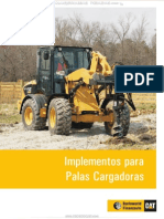Material Implementos Herramientas Accesorios Palas Cargadores Frontales Caterpillar
