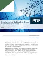 Fundamentos de La Administración (1er Parte)
